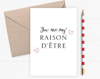 Valentine Card Love Card for Boyfriend Girlfriend Valentines Card Romantic Birthday Card Greeting Card Wedding Anniversary Card