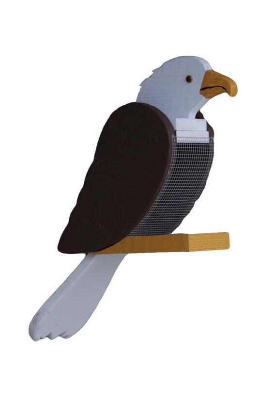 Amish Made Bald Eagle Bird Feeder