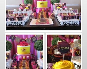 Disney Descendants Party Supply | Descendants Invitation | Descendants Birthday Party | Descendants Printable | Descendants Invitation