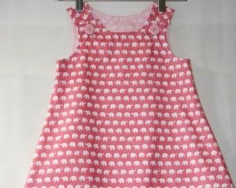 ON SALE!! - Little girls pinafore dress