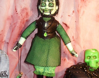Horror Doll Gothic Fangloria Spider