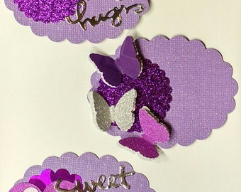 Purple Embellishment Set 1