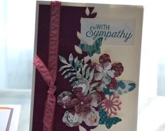 Handmade Sympathy Card, StampinUp! Card