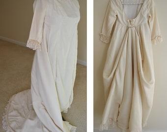 Henri Bendel / 1960s Wedding Gown / Couture Wedding Dress / Chapel Train / Rare Wedding Gown / Henri Bendel Vintage / Short Sleeve / RARE