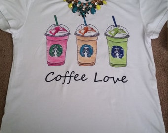 Starbucks fashion t-shirt