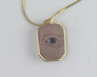 Evil Eye/Lover's Eye Necklace
