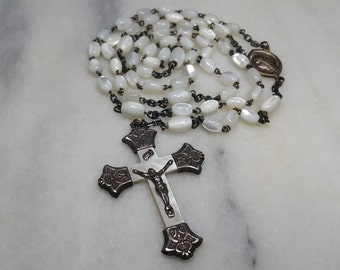 Mother Of Pearl Vintage Rosary