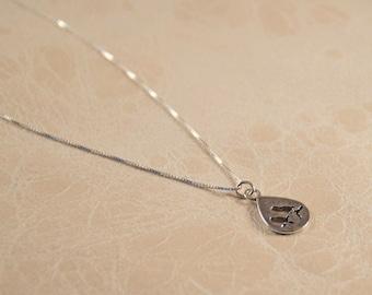 delicate silver birds necklace, tiny delicate necklace gift, delicate Birds necklace, delicate necklace, dainty necklace, bird necklace