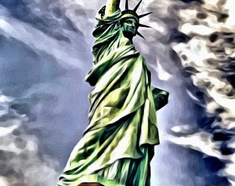 Statue of Liberty - Print or Canvas