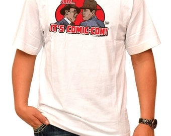 Forget it Jake… It's Comic-Con! 100% Cotton T-Shirt