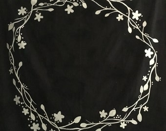 Floral Tapestry Customizable
