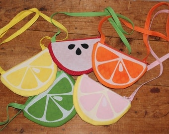 Fruit slice purse