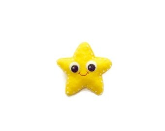 Star Brooch - Starfish Pin - Under the Sea - Nautical Brooch - Cute Star Jewellery - Mothers Day Gift