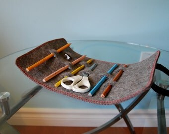 Wool Felt Pencil Case