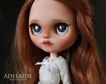Adelaide - custom ooak Blythe doll - unique art doll by KarolinFelix