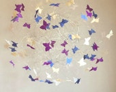 Hanging Baby Mobile, Butterfly Nursery Mobile, Purple Nursery Decor