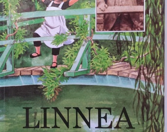 Vintage Book. Linnea in Monet's Garden by Christina Bjork Drawings by Lena Anderson