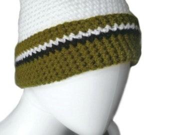 Crochet Hat Pattern - Penelope's Pompom Beanie Hat crochet pattern - pdf