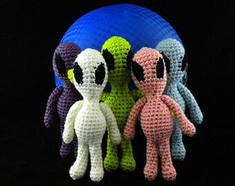 Made to Order Alien Doll Crochet