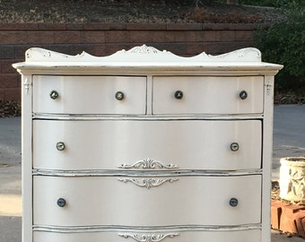 GORGEOUS DRESSER Order YOUR Painted Dresser! Bedroom Antique Dresser The Shabby Chic Furniture Baby Changing Station