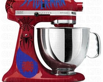 Spider-Man Mixer Decal Set
