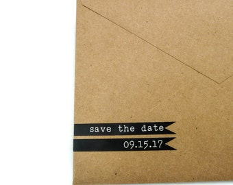 100 Save the Date Labels - Custom Label - Personalized Sticker - Custom Sticker - Save the Date Sticker - Favor Sticker - Flag Sticker