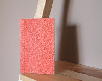 "Hand-bound book ""Golden peas - red"""