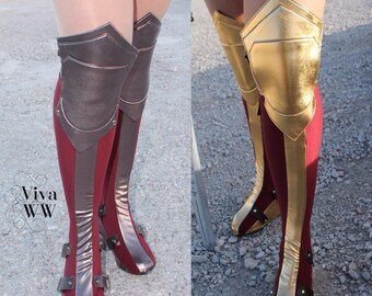 New Wonder Woman Boot Covers Bootcovers