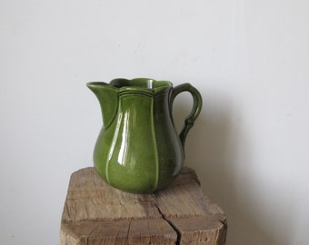 Vintage French Niderviller faience pitcher