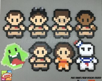 Ghostbusters Magnets or Ornaments - Ghostbusters Ornaments, Fridge Magnets, Geek Decor