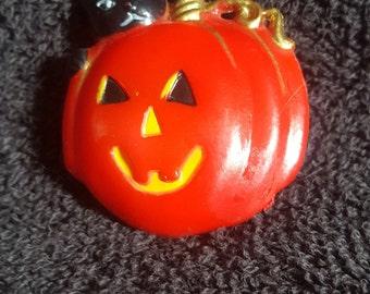 Halloween Jackolantern brooch