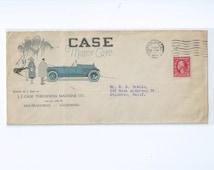 Advertising Cover Case Motor Cars San Francisco Feb 27 1923 Size 10 Envelope