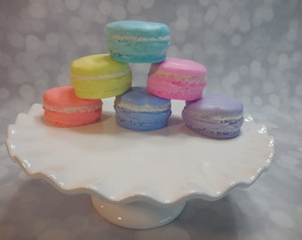 Macaron Soaps - Cookie Soap - Food Soap - French Macarons - Kids Soap - Birthday Party Favors - Bridal Shower Favors - Soap Favors - 25 pk