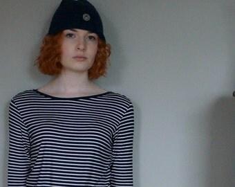 Women's stripe breton tee