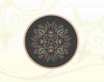 Ornament Cross Stitch Pattern Instant Download