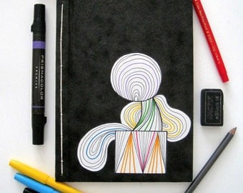 Lightweight Handmade Sketchbook: Shapes and Colors
