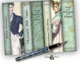 Download - Holiday Novels - Almost Jane Austen - Note Cards