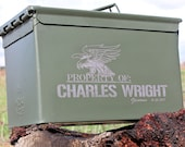 Ammo Can, Christmas, Mens Gift, Personalized Ammo Box, Dad Gifts, Storage Bin Army Green Gift Box Christmas Gift for Him