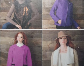 Simplicity 1758. Misses' Jackets and Vest pattern, sizes 16-24. Great pattern with many options. Uncut and factory folded.