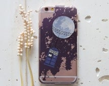 Doctor Who iPhone 6 Case Tardis iPhone 6s Case Dr Who iPhone 6 Plus Case Bad Wolf iPhone 5s Case Police Box Samsung Galaxy S6 Edge Case 189