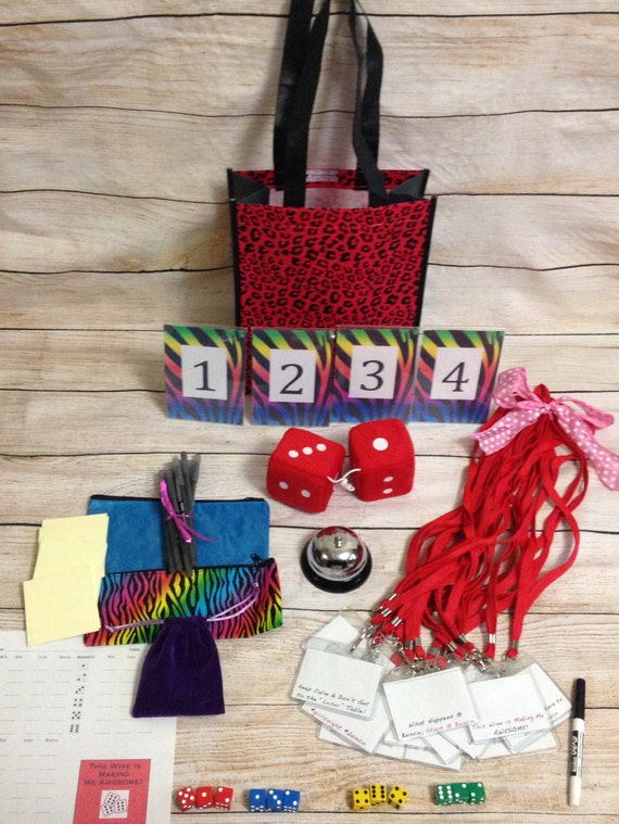 16 Person Basic Bunco Party Game Starter By