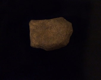 Ancient Native American Grinder, Nutting Stone, Hammer Stone, Tool, Primative Tool, Paleo Indian