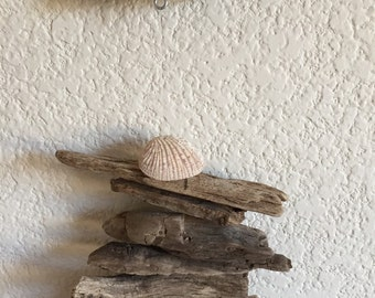Driftwood & Shell Mobile