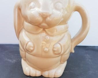 Wade Ringtons Rabbit Mug ~ Beige Ringtons Tea Bunny Mug