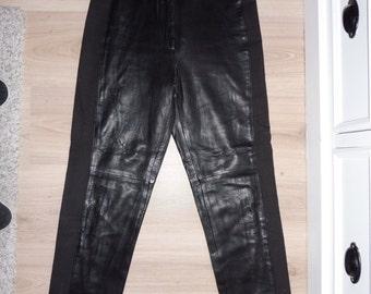 Bimatiiere ENATO size 38 leather pants