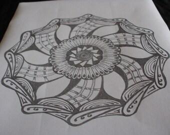 doodle mandala 4