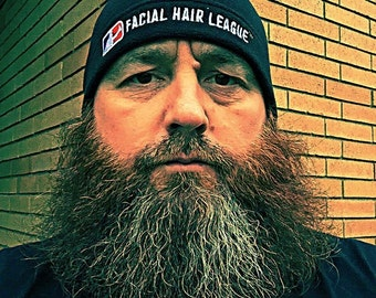 FHL Beanie - Beardsman, show your support for the Facial Hair League!