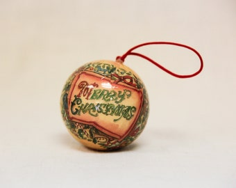 10 Vintage decoupage ornaments