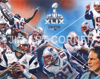 Patriots 2015 Super Bowl Team