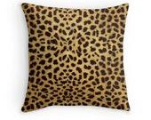 Cheetah Print, Cheetah Pillow, Cheetah Pillow Cover, Animal Print Pillow, Animal Print Pillow Case, Cheetah Pillow Case, Cheetah Decor